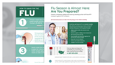 How to Swab for the Flu. Flu Season is Almost Here: Are You Prepared?