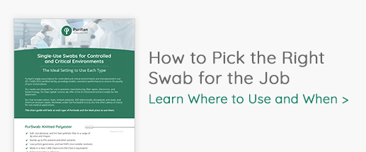 How to Pick the Right Swab for the Job
